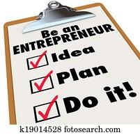 Be Entrepreneur To Do LIst Idea Plan Do It Business Ownership