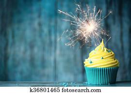 feier, cupcake