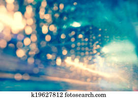 Artistic style - Defocused urban abstract texture background