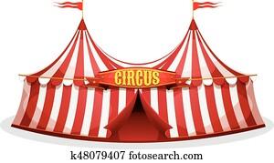 Big Top Circus Tent
