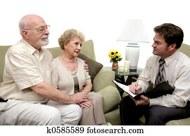 Counseling Session or Salesman