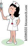 Nurse and Needle