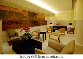 The lobby in hotel