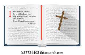 Bible quotes about confessing our sins and God's forgiveness