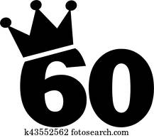 60th birthday clipart royalty free 394 60th birthday clip art rh fotosearch com 60th birthday clip art free 60th birthday clip art women