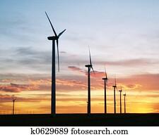Energy Sunset