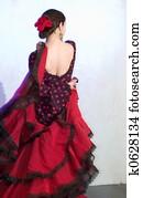 Flamenko dancer