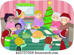 Stickman Christmas Party
