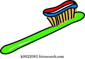 toothbrush clipart stock illustrations 95 toothbrush clipart clip rh fotosearch com toothbrush clip art images toothbrush clipart black and white