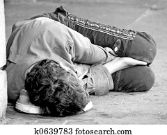 Homeless Youth on Street