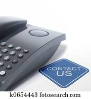 contact us and telephone