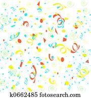 confetti wrapping