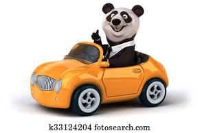 Fun panda