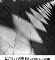 Artistic abstract shadows black and