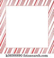 Candy Stripe Frame