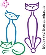 Cat Trio