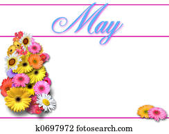 May Day on White