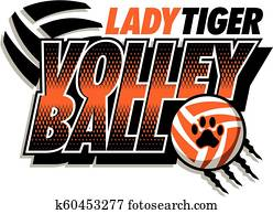 lady tiger volleyball