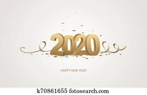 frohes neues jahr, 2020