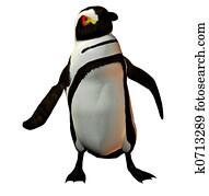 Penguin dancer
