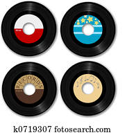 value of 45 rpm records