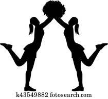 Two Cheerleader