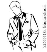 Businessman Outline