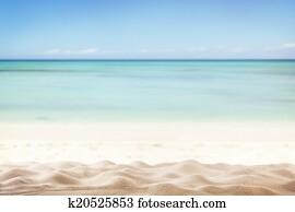 Occhiali Da Sole Sullo Sfondo Di Mare E Sabbia Fuoco Su Il