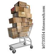 Shopping Cart Shipping Ca