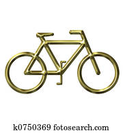 Golden Bicycle