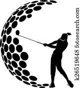 Women Golf G Design