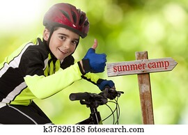 bike to summer camp