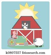 Farm graphic