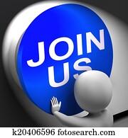 Join Us Pressed Means Register Volunteer Or Sign Up