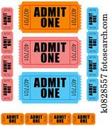 admit one tickets 1