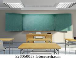 Classroom rendering