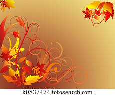 Autumn Foliage Background