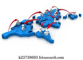 Global people Networking