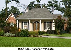 Lovely Home with Landscaped Lawn