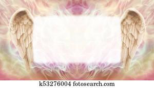 Angel Wings Message Board