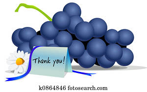 Thanks giving grapes
