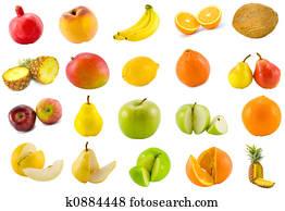 twenty tropical fruits