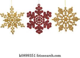 Snow Flake Ornaments