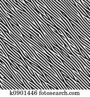 Zebra like pattern
