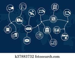 Disruptive digital business flow
