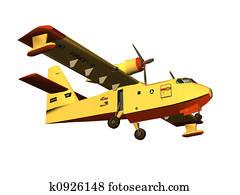fireman plane