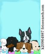 Puppy Background