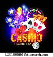 Casino Party Vector