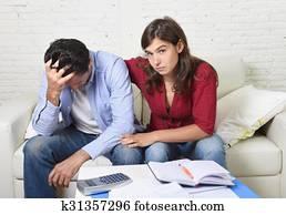 unemployed husband stress