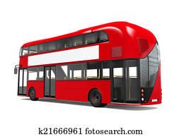 Doppeldecker Bus Stock Illustration und Clipart. 242 ...